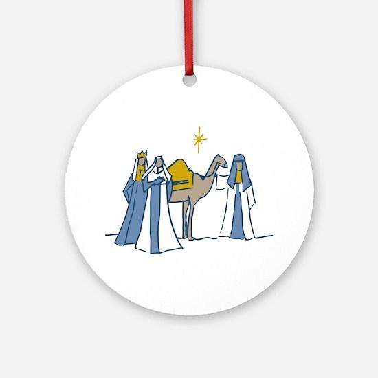 Three Kings Ornament (Round)