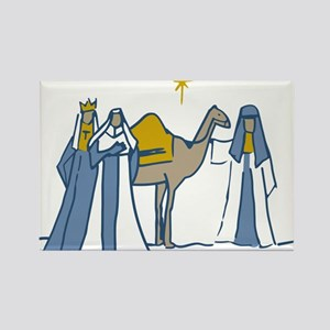 Three Kings Rectangle Magnet