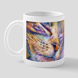 Sleeper Cat Mug