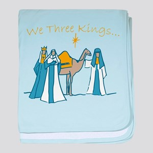 We Three Kings baby blanket