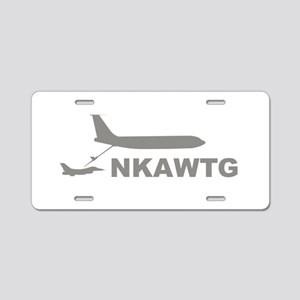 NKAWTG-1 Aluminum License Plate