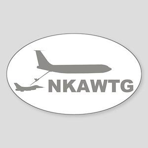 NKAWTG-1 Sticker (Oval)