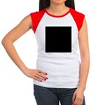 FLAT EARTH Women's Cap Sleeve T-Shirt