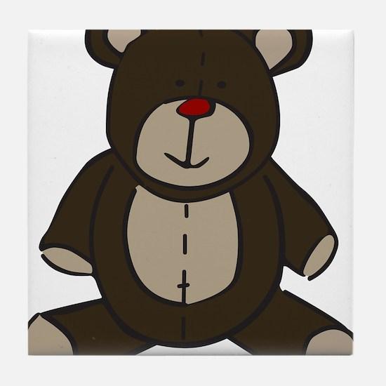 Teddy Bear Tile Coaster