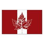 Cool Canada Flag  Sticker (Rectangle 10 pk)