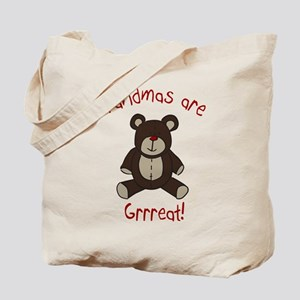 Grandma Teddy Bear Tote Bag