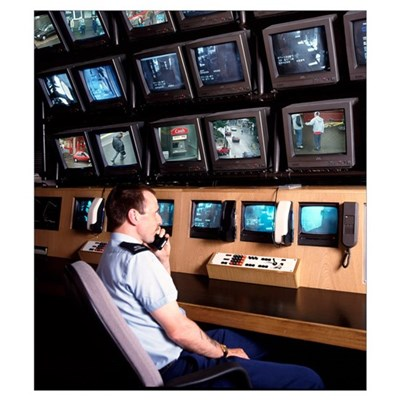 Security control room Poster