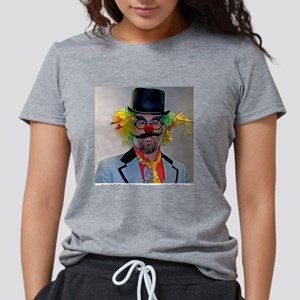 Scary Clown Womens Tri-blend T-Shirt