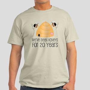 20th Anniversary Honey Light T-Shirt