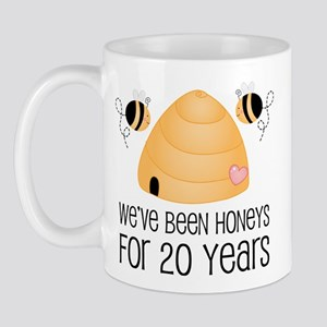 20th Anniversary Honey Mug
