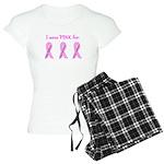 Pink Fighters Survivors Taken Women's Light Pajama