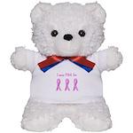 Pink Fighters Survivors Taken Teddy Bear