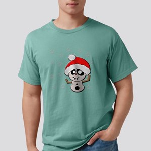 snowyhockeybaby copy Mens Comfort Colors Shirt