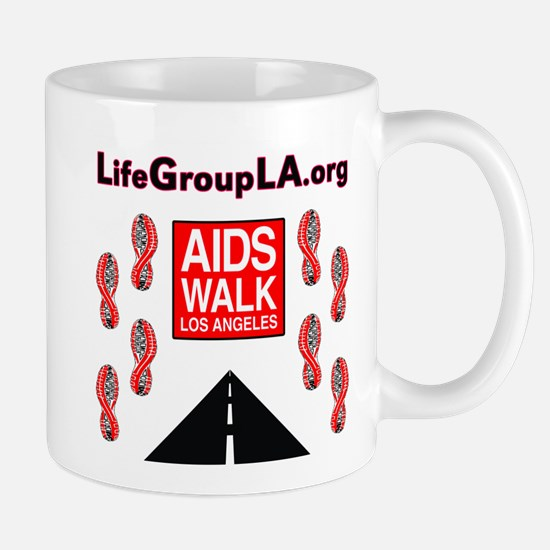 The Life Group LA - AIDS Walk Mug