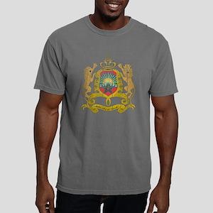 Morocco Coat of Arms woo Mens Comfort Colors Shirt