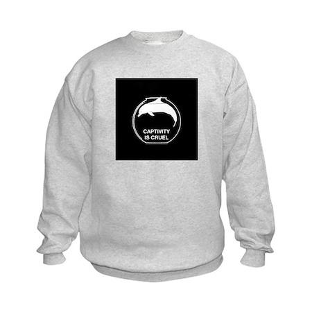 anticap sticker Kids Sweatshirt