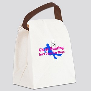 Girl with Ghost Canvas Lunch Bag