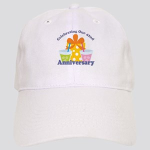 42nd Anniversary Party Gift Cap
