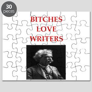 writer joke Puzzle