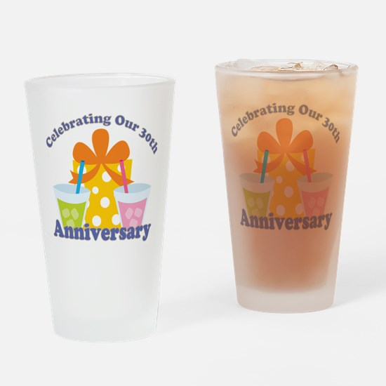 30th Anniversary Party Drinking Glass