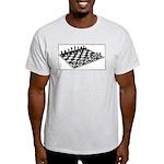 Simply Chess Ash Grey T-Shirt
