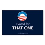That One_Oval Sticker (Rectangle 10 pk)