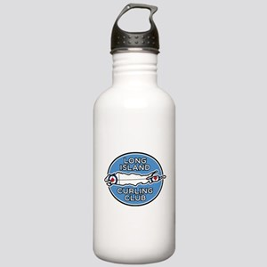 Long Island Curling Club Stainless Water Bottle 1.