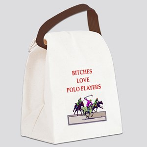 polo Canvas Lunch Bag