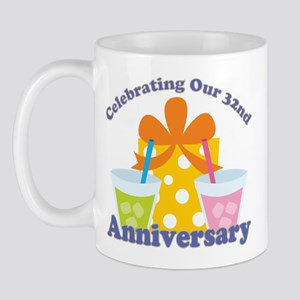 32nd Anniversary Celebration Mug