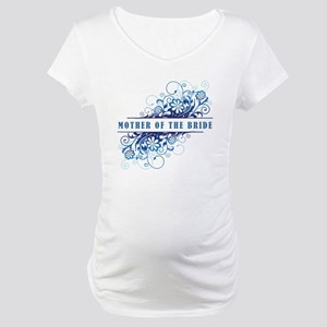 MOTHER OF THE BRIDE Maternity T-Shirt