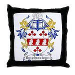 Umphrastoun Coat of Arms Throw Pillow