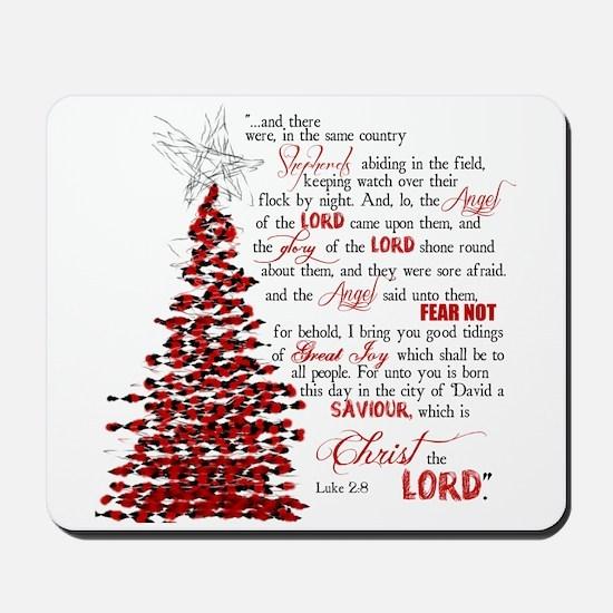 Luke 2:8 Mousepad