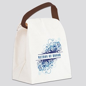 MATRON OF HONOR Canvas Lunch Bag