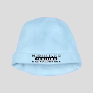 December 21 2012 Survivor baby hat