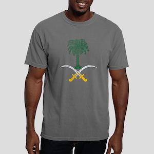Saudi Arabia Coat of Arm Mens Comfort Colors Shirt