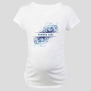 FLOWER GIRL Maternity T-Shirt