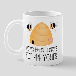 44th Anniversary Honey Mug