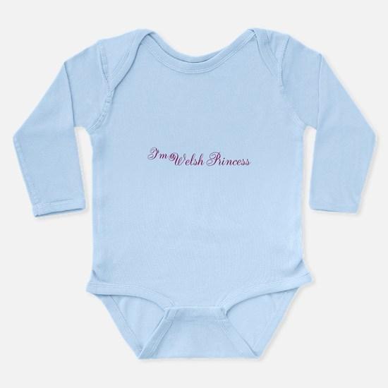 Welsh Princess Long Sleeve Infant Bodysuit