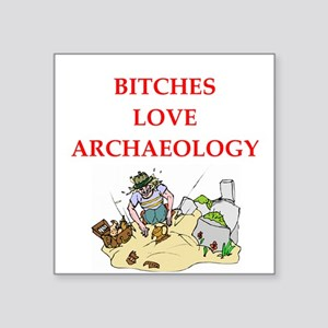 """archaeology Square Sticker 3"""" x 3"""""""