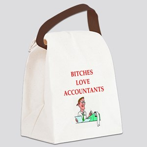 accountantt Canvas Lunch Bag