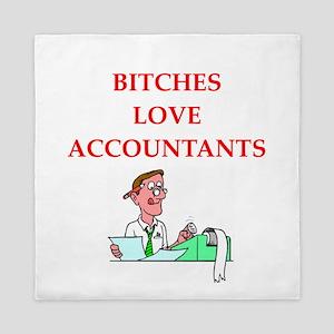 accountantt Queen Duvet