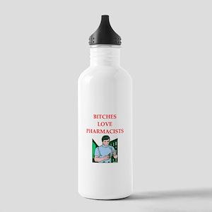 pharmacy Stainless Water Bottle 1.0L