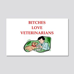 veterinarian 20x12 Wall Decal