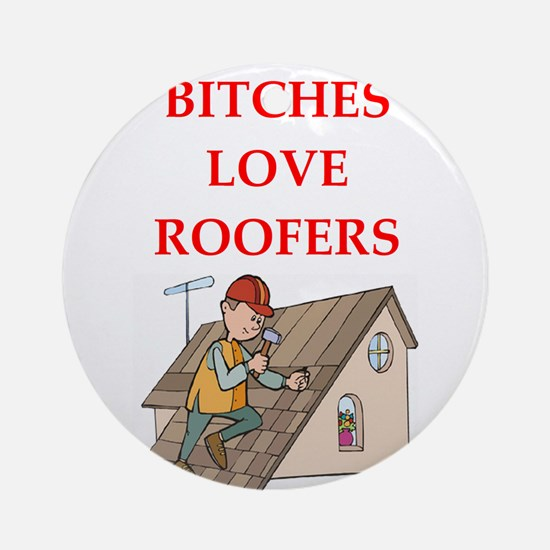 roofer Ornament (Round)