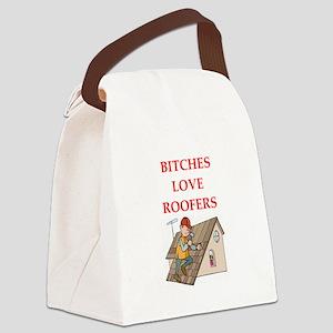 roofer Canvas Lunch Bag