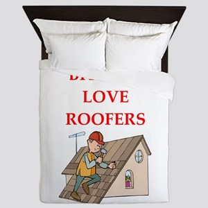 roofer Queen Duvet