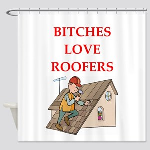 roofer Shower Curtain