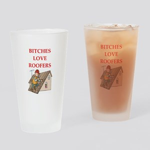 roofer Drinking Glass