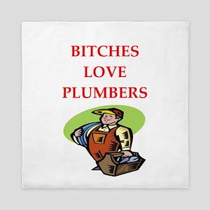 plumber Queen Duvet