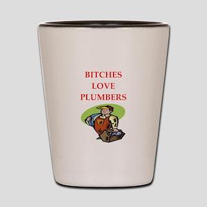 plumber Shot Glass